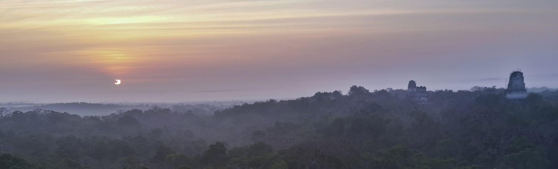 Tikal amanecer